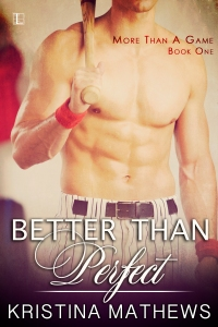 The finalized cover of Better Than Perfect